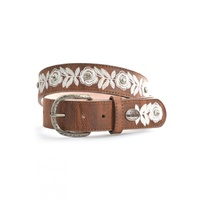 PURE WESTERN FLORA WOMEN'S BELT