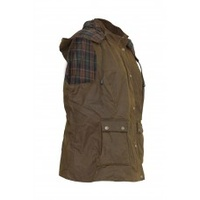 ST ARNAUD WOMENS VEST BROWN