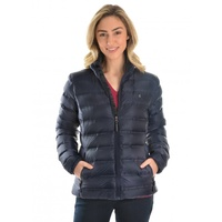THOMAS COOK NAVY OBERON LIGHTWEIGHT DOWN JACKET