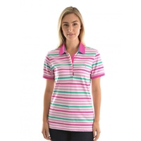 THOMAS COOK AVA STRIPE POLO