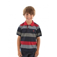 THOMAS COOK LEWIS STRIPE POLO