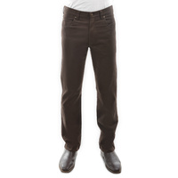Mens Stretch Moleskin Rich Brown