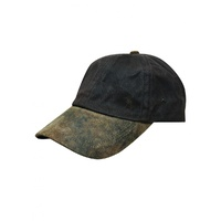 THOMAS COOK  DARK BROWN OILSKIN CAP