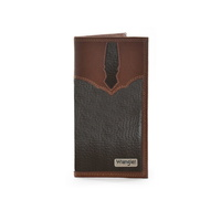 WRANGLER MENS CONNOR RODEO TAN WALLET